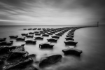 MARTIN SMITH - Sea defences, Felixstowe