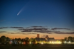 Comet Neowise over Ely - James Billings