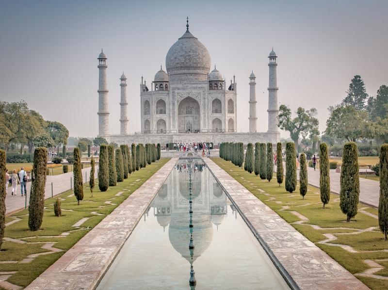 Gary Mills - Symmetry at the Taj Mahal