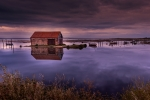 Nick Bowman - Thornham Harbour Blue Hour