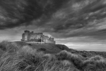 STORM CLOUDS OVER BAMBURGH - John Harvey