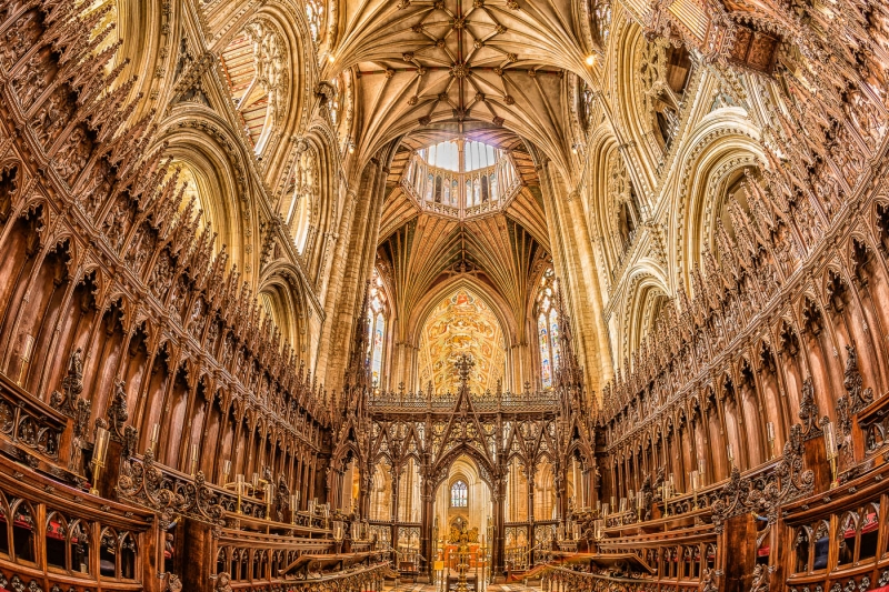 Nick Bowman - Ely Cathedral Choir and Presbytery
